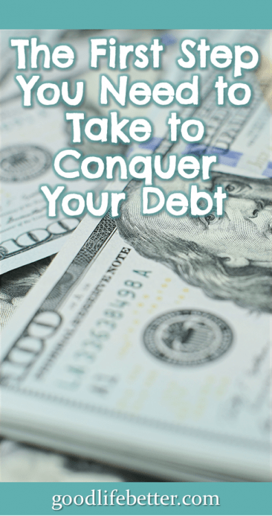 Once you commit to getting out of debt, actually doing it will be so much easier! #DebtFree #DebtPayoff #GoodLifeBetter