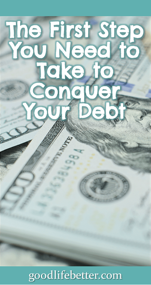 Want to get out of debt?  Unless you really commit to doing so, you are going to find it difficult to remain focused. #DebtFree #GettingOutOfDebt #GoodLifeBetter