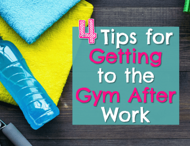 Workout towel and water bottle