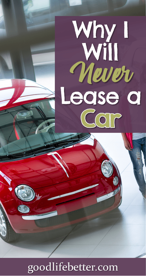 Are you considering leasing a car?  There are lots of reasons you shouldn\'t!