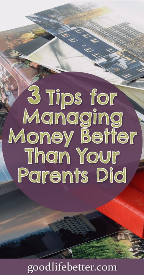 Great tips for overcoming poor money lessons learned in childhood! #MoneyLessons #GoodLifeBetter