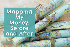 Sometimes having a visual representation of how your money flows in and out of your life can help you see where you can make changes. See mine by clicking through! #MoneyMap #Cashflow #GoodLifeBetter