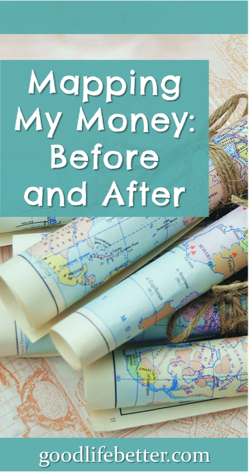Mapping My Money: Before and After