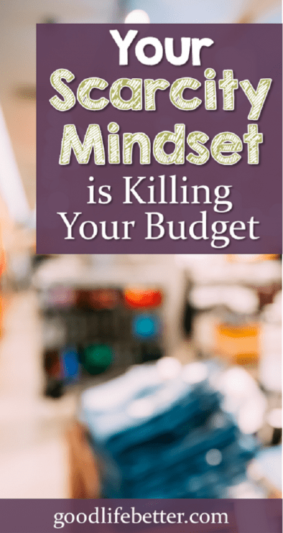 Overcoming a scarcity mindset is not easy. Click through to learn how I am taking back control of my spending!
