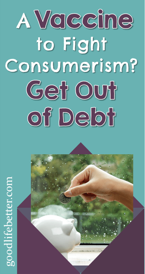 Working to get out of debt has helped me reduce mindless spending a lot. Now I ask myself do I want whatever it is more than I want to be debt free.