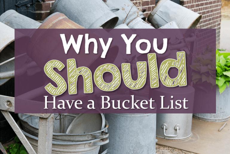 Rack of metal buckets