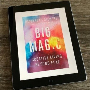 Cover of the Book Big Magic