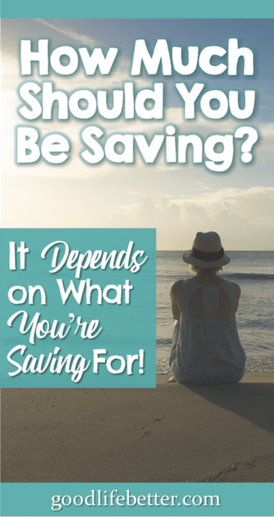 I've paid off my debt—now what? By identifying what I was saving for, it helped clarify how much I needed to save. #Saving #MoneyGoals #RetirementPlanning #GoodLifeBetter