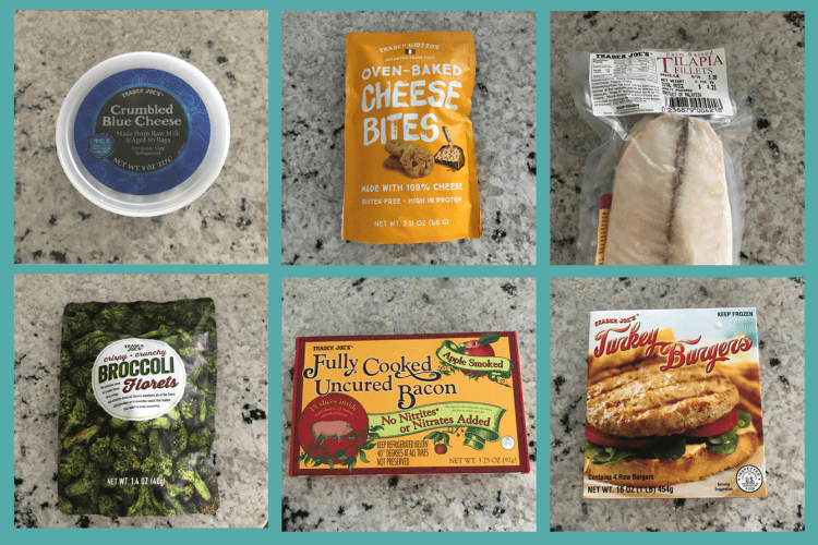 Pictures of my favorite keto-friendly Trader Joe foods